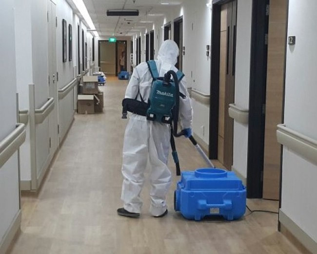 commercial fog cleaning for sanitizing and disinfecting