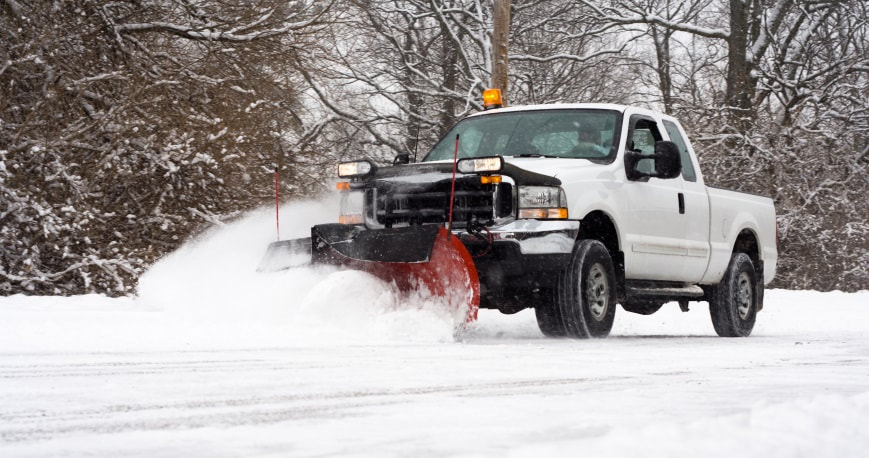 snow removal service and ice removal service in Dallas Fort Worth Texas.