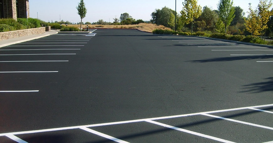 parking lot cleaning service near Dallas TX